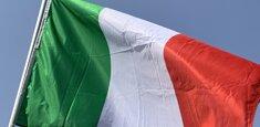 Bandiera Italiana a pennone