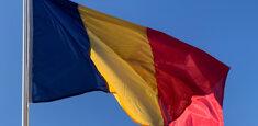 Bandiera rumena a pennone